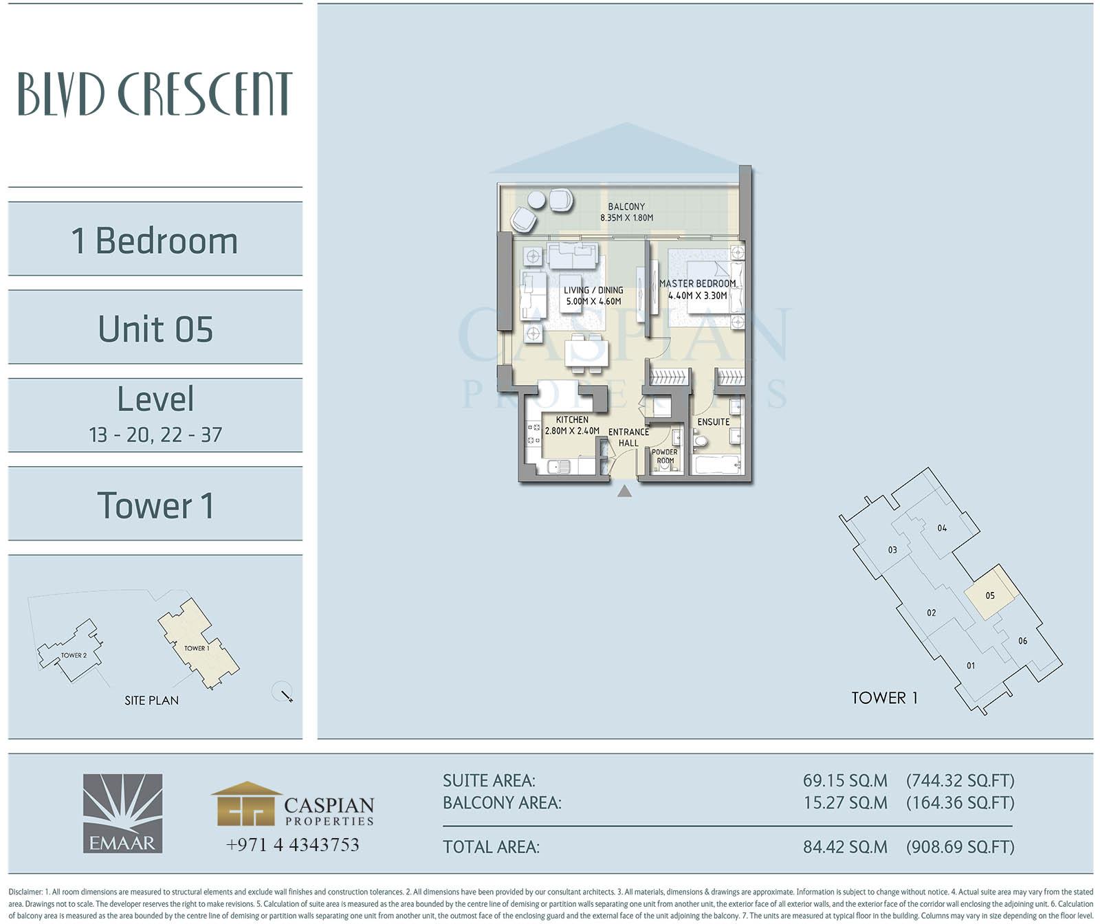 Boulevard Crescent Floor Plans