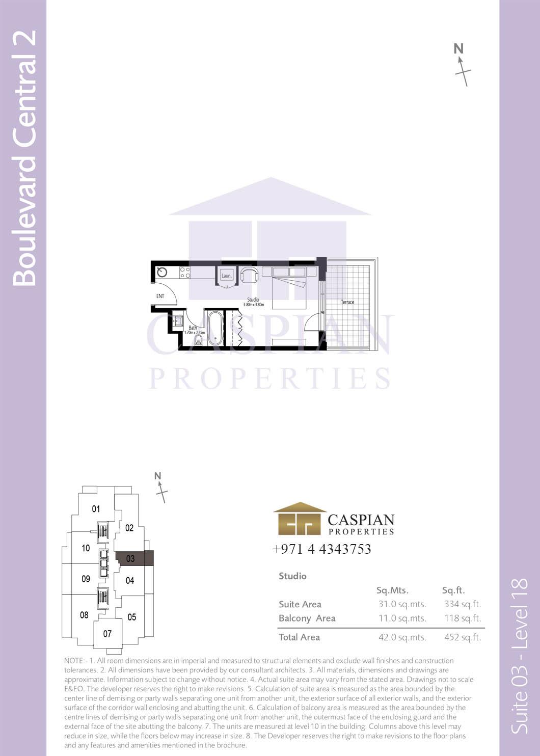 Boulevard Central Tower 2 Floor Plans