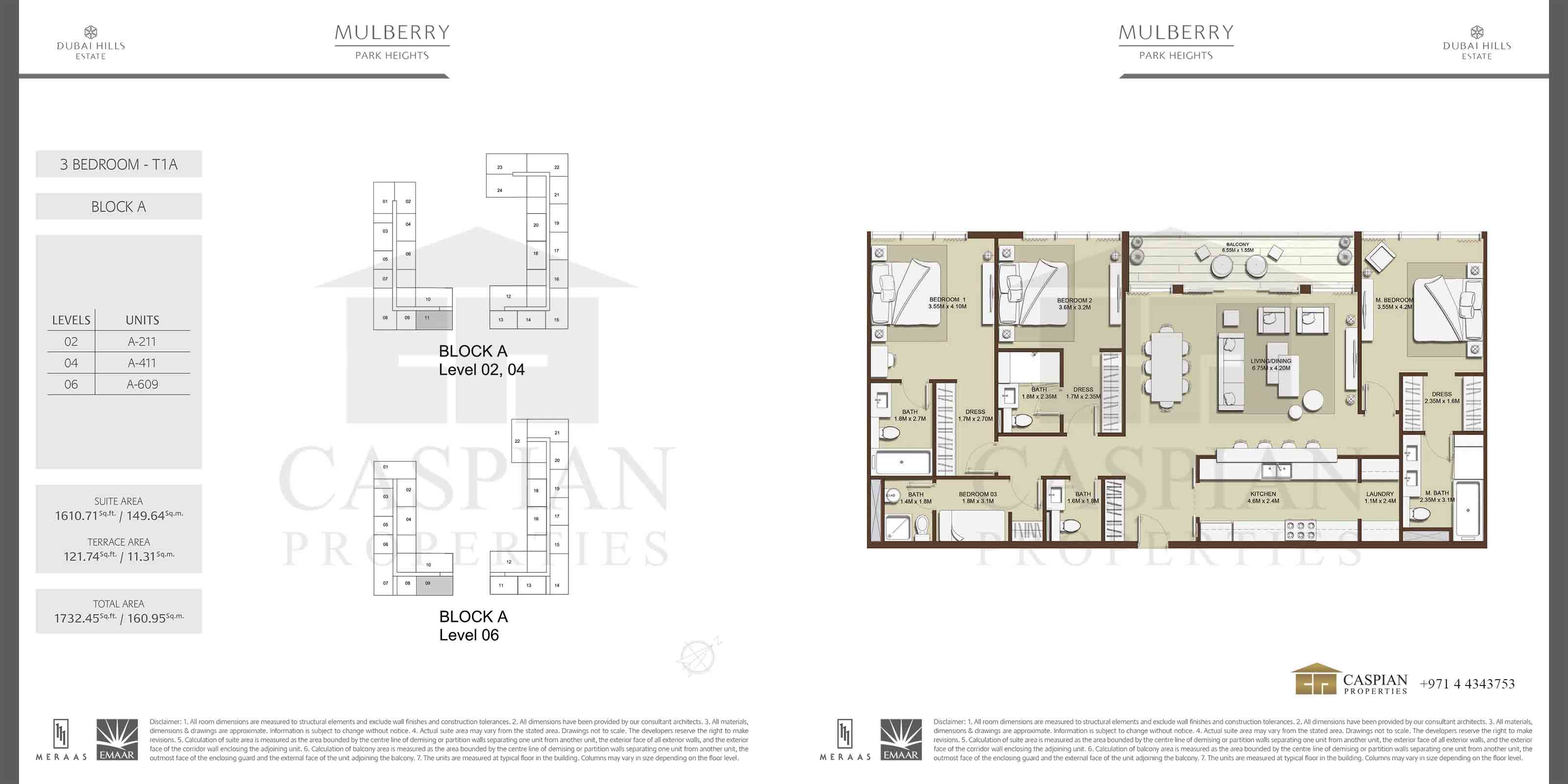 Mulberry Park Heights I Floor Plans