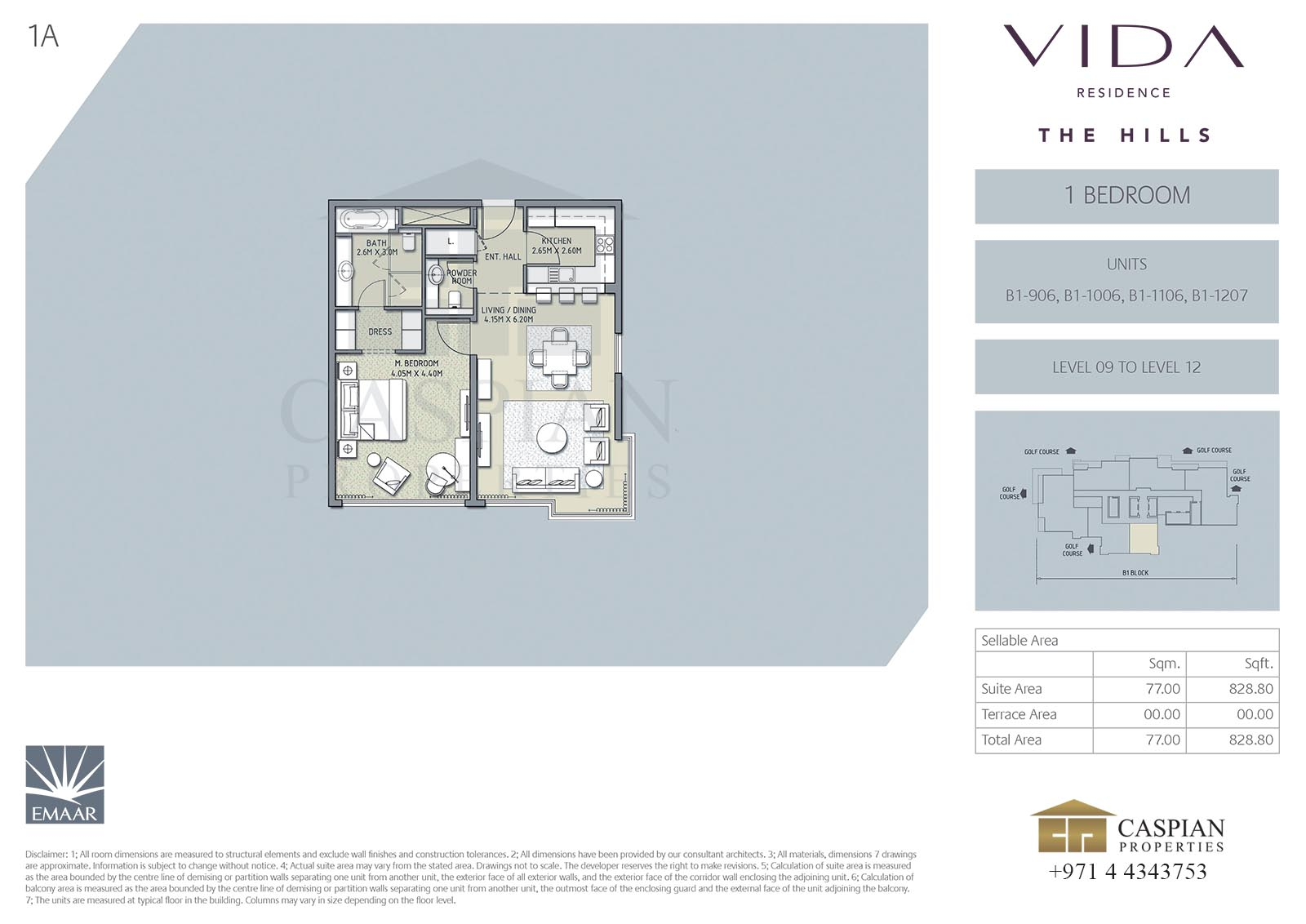 Vida Residence The Hills Floor Plans